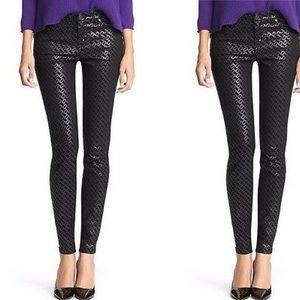 NWT Diane von Furstenberg Luna Chainlink Jeans